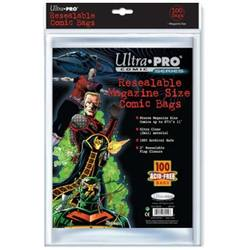 Buy Ultra Pro Magazine Size Resealable Bags in AU New Zealand.