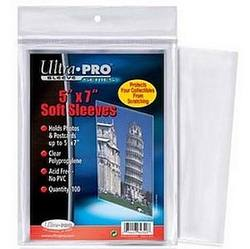 "Buy Ultra Pro 5"" x 7"" Soft Sleeves (100CT) Pack in AU New Zealand."