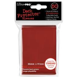 Buy Ultra Pro Lava Red Deck Protectors 50 Large Magic Size Sleeves in AU New Zealand.