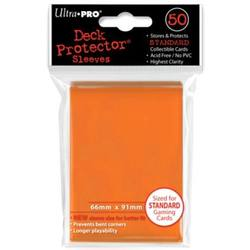 Buy Ultra Pro Candy Orange Deck Protectors 50 Large Magic Size Sleeves in AU New Zealand.