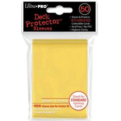 Buy Ultra Pro Canary Yellow Deck Protectors 50 Large Magic Size Sleeves in AU New Zealand.