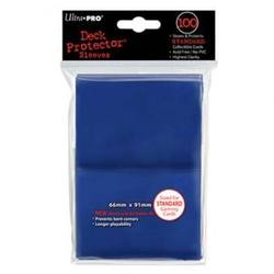 Buy Ultra Pro (100CT) Solid Blue Standard Size Deck Protectors in AU New Zealand.