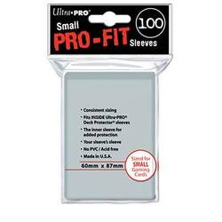 Buy Ultra Pro Pro-Fit (100CT) SMALL Size Sleeves in AU New Zealand.