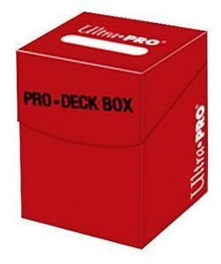 Buy Ultra Pro - PRO-Deck Box 100+ Red in AU New Zealand.