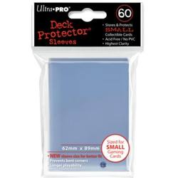 Buy Ultra Pro Clear Deck Protectors (60CT) YuGiOh Size Sleeves in AU New Zealand.
