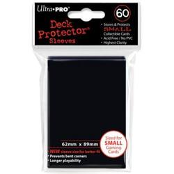 Buy Ultra Pro Black Deck Protectors (60CT) YuGiOh Size Sleeves in AU New Zealand.