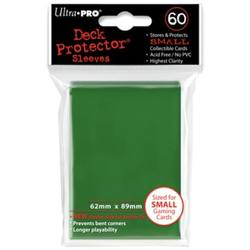 Buy Ultra Pro Green Deck Protectors (60CT) YuGiOh Size Sleeves in AU New Zealand.