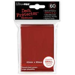 Buy Ultra Pro Red Deck Protectors (60CT) YuGiOh Size Sleeves in AU New Zealand.