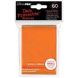 Buy Ultra Pro Orange Deck Protectors (60CT) YuGiOh Size Sleeves in AU New Zealand.
