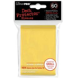 Buy Ultra Pro Yellow Deck Protectors (60CT) YuGiOh Size Sleeves in AU New Zealand.