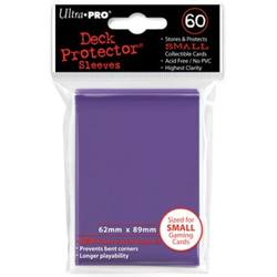 Buy Ultra Pro Purple Deck Protectors (60CT) YuGiOh Size Sleeves in AU New Zealand.