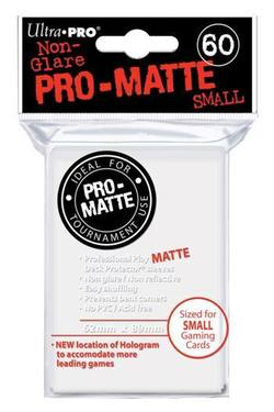 Buy Ultra Pro Pro-Matte White (60CT) YuGiOh Size Sleeves in AU New Zealand.