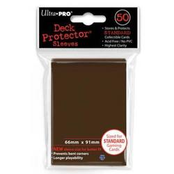 Buy Ultra Pro Brown Deck Protectors 50 Large Magic Size Sleeves in AU New Zealand.