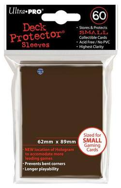 Buy Ultra Pro Brown Deck Protectors (60CT) YuGiOh Size Sleeves in AU New Zealand.