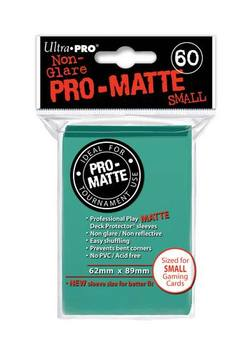 Buy Ultra Pro Pro-Matte Aqua (60CT) YuGiOh Size Sleeves in AU New Zealand.
