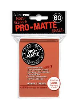 Buy Ultra Pro Pro-Matte Peach (60CT) YuGiOh Size Sleeves in AU New Zealand.