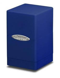 Buy Ultra Pro Blue Satin Tower Deck Box in AU New Zealand.
