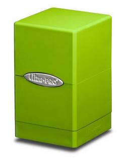 Buy Ultra Pro Lime Green Satin Tower Deck Box in AU New Zealand.