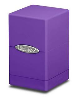 Buy Ultra Pro Purple Satin Tower Deck Box in AU New Zealand.
