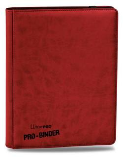Buy Ultra Pro Premium Pro Binder Red in AU New Zealand.