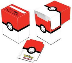 Buy Ultra Pro Pokemon Red and White Full-View Deck Box  in AU New Zealand.