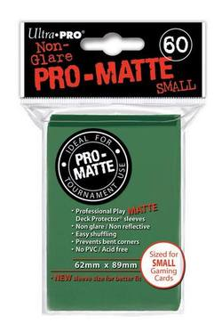 Buy Ultra Pro Pro-Matte Green (60CT) YuGiOh Size Sleeves in AU New Zealand.