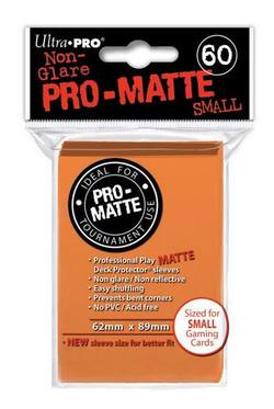 Buy Ultra Pro Pro-Matte Orange (60CT) YuGiOh Size Sleeves in AU New Zealand.