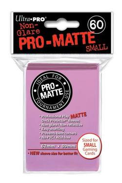 Buy Ultra Pro Pro-Matte Pink (60CT) YuGiOh Size Sleeves in AU New Zealand.