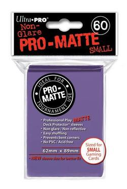 Buy Ultra Pro Pro-Matte Purple (60CT) YuGiOh Size Sleeves in AU New Zealand.
