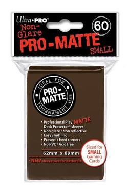 Buy Ultra Pro Pro-Matte Brown (60CT) YuGiOh Size Sleeves in AU New Zealand.