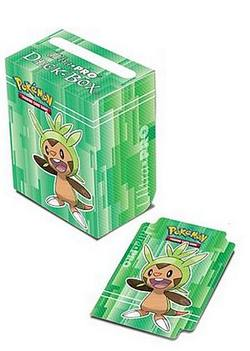 Buy Ultra Pro Pokemon XY Generic Green Chespin Deck Box  in AU New Zealand.