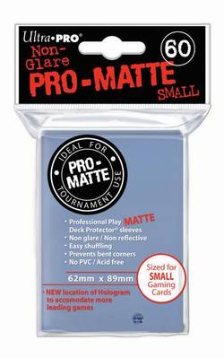Buy Ultra Pro Pro-Matte Clear (60CT) YuGiOh Size Sleeves in AU New Zealand.