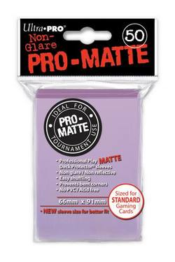 Buy Ultra Pro Pro-Matte Lilac (50CT) Regular Size Sleeves in AU New Zealand.