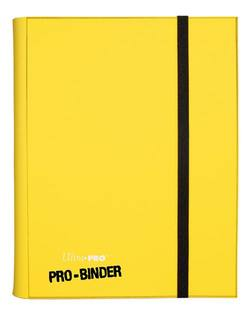 Buy Ultra Pro - PRO-Binder Yellow in AU New Zealand.