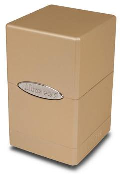 Buy Ultra Pro Metallic Caramel  Satin Tower Deck Box in AU New Zealand.