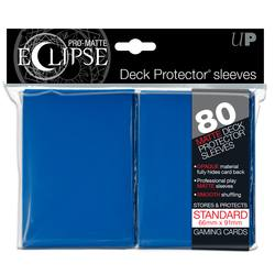 Buy Ultra Pro Pro-Matte Eclipse Large (80CT) Blue Sleeves in AU New Zealand.