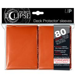 Buy Ultra Pro Pro-Matte Eclipse Large (80CT) Orange Sleeves in AU New Zealand.
