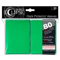 Buy Ultra Pro Pro-Matte Eclipse Large (80CT) Green Sleeves in AU New Zealand.