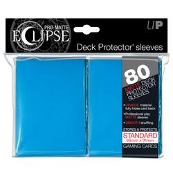 Buy Ultra Pro Pro-Matte Eclipse Large (80CT) Light Blue Sleeves in AU New Zealand.