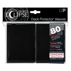 Buy Ultra Pro Pro-Matte Eclipse Large (80CT) Black Sleeves in AU New Zealand.