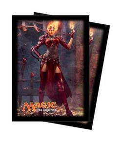 Buy Ultra Pro Magic Deck Protectors - M14 Chandra Vertical Pic (80CT) in AU New Zealand.