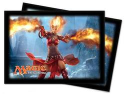 Buy Ultra Pro Magic Deck Protectors - M14 Chandra Landscape Pic (80CT) in AU New Zealand.