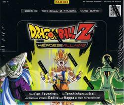 Buy 2014 Panini Dragon Ball Z Heroes and Villains (24CT) Booster Box in AU New Zealand.