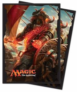 Buy Ultra Pro Magic Rivals of Ixalan - Angrath, the Flame-Chained (80CT) Sleeves in AU New Zealand.