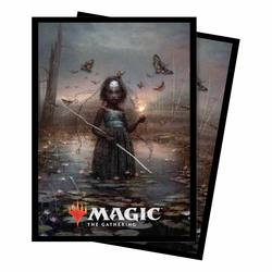 Buy Ultra Pro Magic Commander 2018 Aminatou, the Fateshifter Standard Deck Protector (100CT) Sleeves in AU New Zealand.