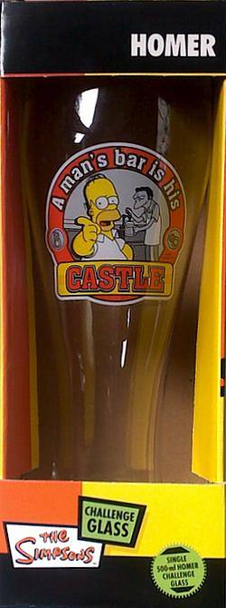 Buy Simpsons: Homer Challenge Glass in AU New Zealand.