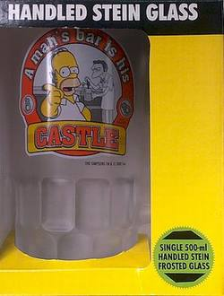 Buy Simpsons: Homer Handled Stein Glass in AU New Zealand.