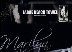 Buy Marilyn Monroe Beach Towel in AU New Zealand.