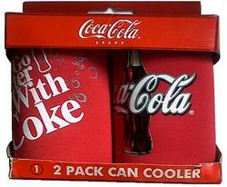 Buy Coca-Cola 2 Pack Can Cooler (Damaged Packaging) in AU New Zealand.