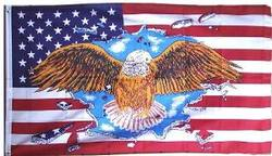 Buy USA Flag With Eagle in AU New Zealand.